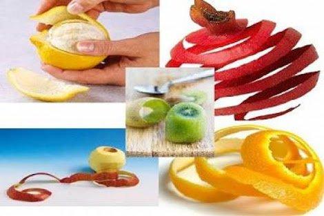 9 قشور للفواكه لا تتخلصي منها .. لن تتخيلي فوائد الموز والرمان