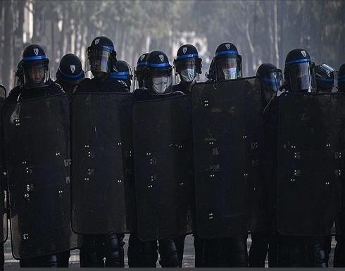 """فرنسا.. مواجهات بين الشرطة وعمال """"توتال"""" المفصولين"""