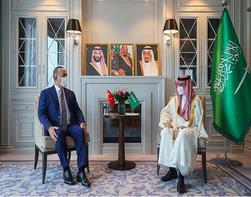 وزيرا خارجية السعودية وتركيا يلتقيان في طشقند