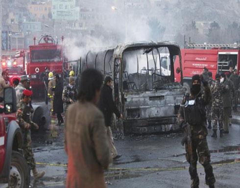 ارتفاع عدد ضحايا تفجيرات كابول الى 21 شخصا