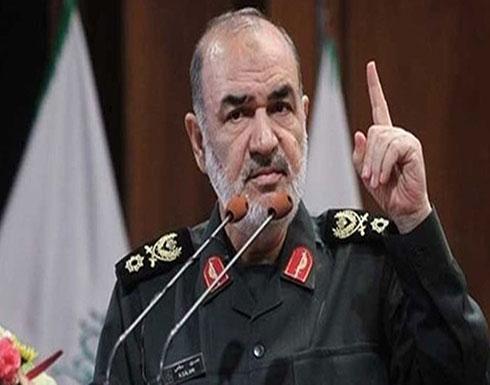 قائد الحرس الثوري الإيراني: أمريكا تعيش بداية نهايتها