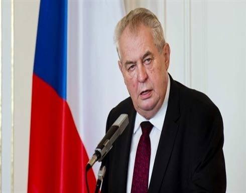 """الرئيس التشيكي: الهجوم على سوريا """"عمل من أعمال رعاة البقر"""""""