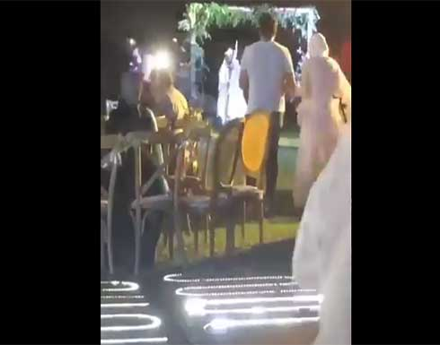 """مقتل لبناني في حفل زفاف على خلفية """"قضية ثأر"""" .. بالفيديو"""