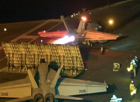 ترمب يوافق على إرسال تعزيزات عسكرية إلى الخليج لردع إيران