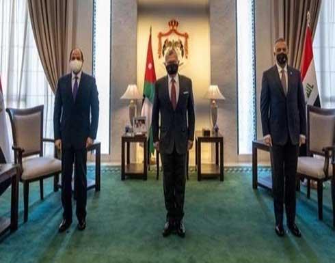خطة لتأمين القمة الأردنية العراقية المصرية في بغداد