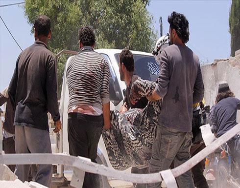 بالفيديو : سوريا.. مقتل 5 مدنيين في قصف جوي للنظام على إدلب