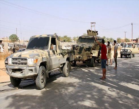 الجيش الليبي: قصف قاعدة الوطية نفذه طيران أجنبي وليس مؤثرا