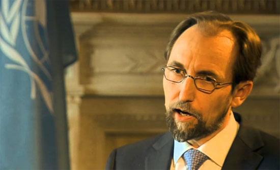 الامير زيد يتمسك بموقفه أزاء تصريحات عنصرية لمسؤول مجري