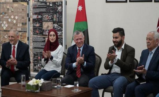 تفاصيل زيارة الملك عبد الله الثاني الى الجامعة الهاشمية