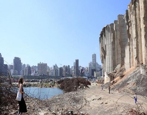 شاهد : صور تعرض للمرة الأولى يوثق لحظة انفجار مرفأ بيروت