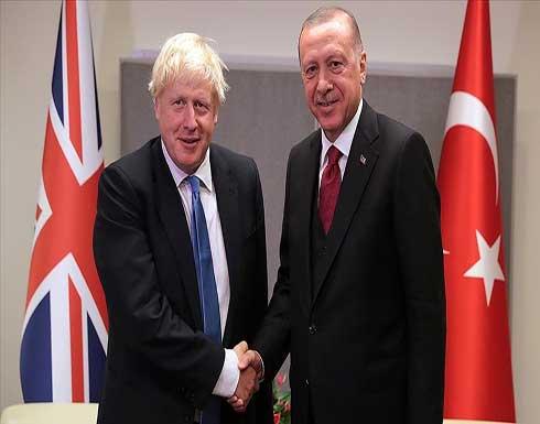 أردوغان وجونسون يبحثان عددا من القضايا الثنائية والإقليمية
