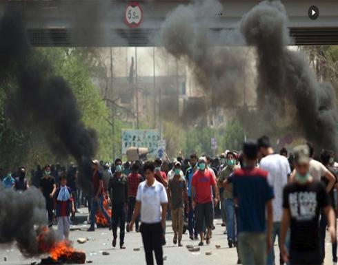 استمرار التظاهرات بالعراق وسط حظر لمواقع التواصل