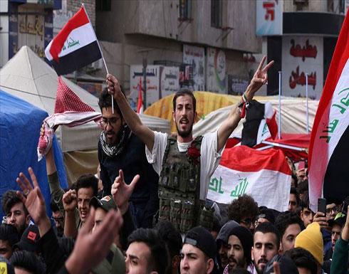 شاهد : مقتل متظاهر ثانٍ برصاص قوات الأمن وسط بغداد