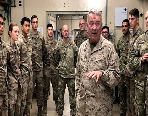 واشنطن: وجود قواتنا بالمنطقة لمنع أنشطة إيران الخبيثة