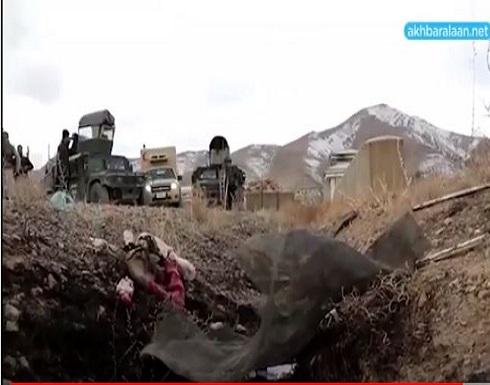 شاهد : عشرات القتلى في تفجيرين انتحاريين في أفغانستان