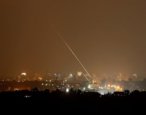 """اطلاق صاروخ على مستوطنات""""غلاف غزة"""""""