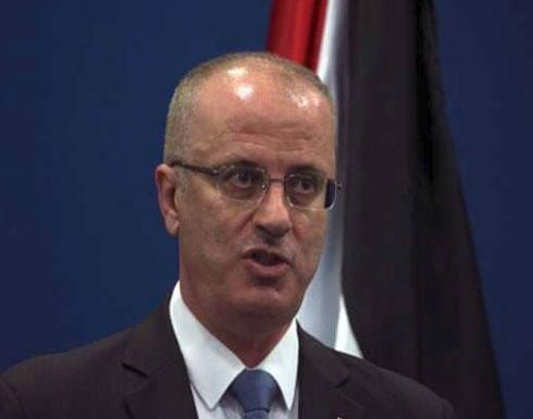 """الرئاسة الفلسطينية تستنكر """"الاستهداف الجبان"""" لرئيس الوزراء"""