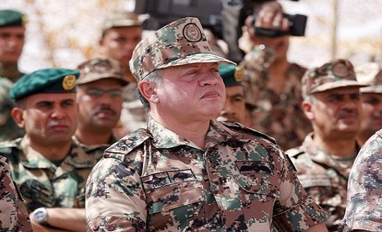 الملك عبدالله الثاني يحضر مأدبة إفطار القوات المسلحة