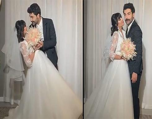 شاهد: فرح الهادي وعقيل يحتفلان بليلة رأس السنة  بزفاف جديد