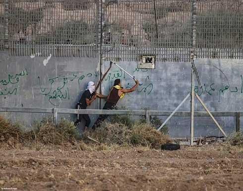 شاهد : ارتفاع حصيلة مصابي اعتداء الاحتلال على متظاهري غزة الى 41