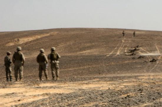 الاردن : المنطقة العسكرية الشمالية تحبط محاولة تسلل