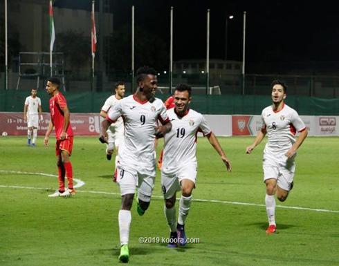 أولمبي الأردن يهزم البحرين في بطولة دبي الودية