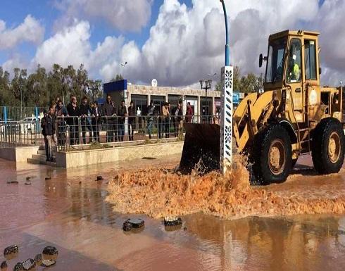 موانئ النفط بشرق ليبيا مغلقة بسبب الأمطار