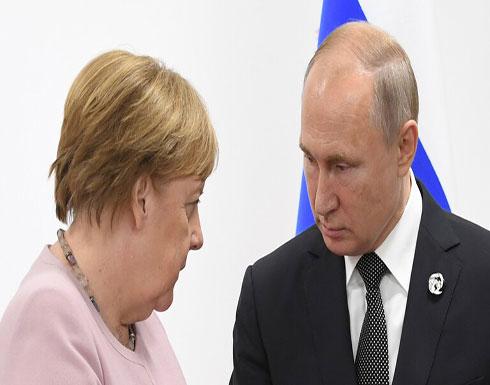 الكرملين: بوتين وميركل يؤكدان ضرورة تكثيف الجهود الدبلوماسية لحل الأزمة الليبية