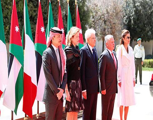 الرئيس الإيطالي يؤكد دعم بلاده للوصاية الهاشمية على المقدسات