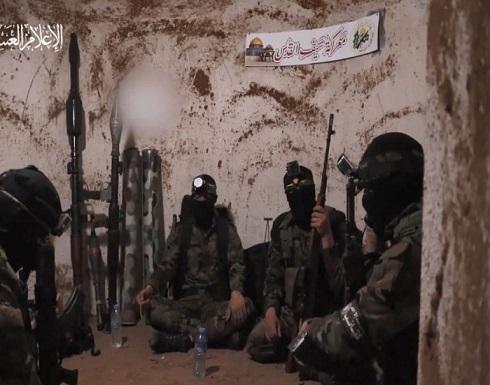 """استعدادات مقاتلي كتائب القسام داخل الأنفاق خلال معركة """"سيف القدس"""" .. بالفيديو"""