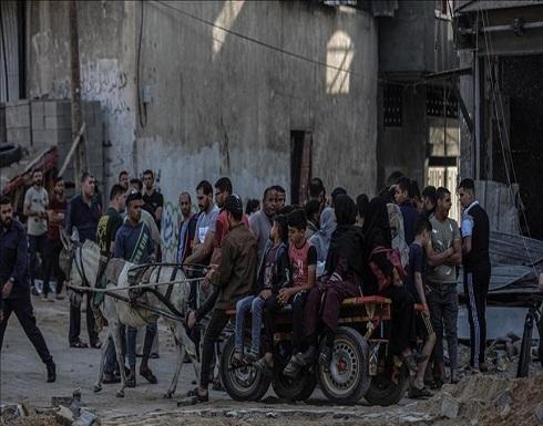 الأمم المتحدة: نزوح 75 ألف فلسطيني جراء هجمات إسرائيلية
