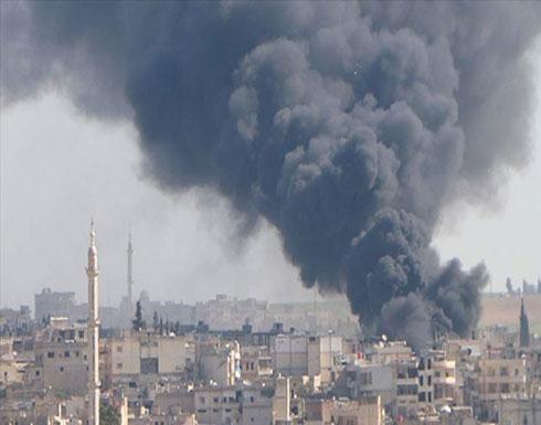 """قصف مكثف للنظام ومجموعات مدعومة من إيران على """"إدلب"""""""