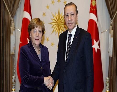 بث مباشر -  مؤتمر صحفي لأردوغان وميركل