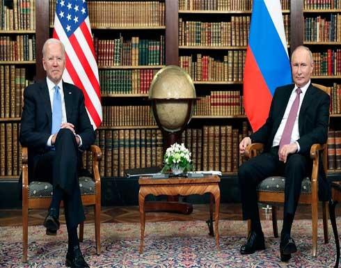 بوتين: لدي علاقات عملية مستدامة مع بايدن ومصالح موسكو وواشنطن في مجالي الأمن والطاقة