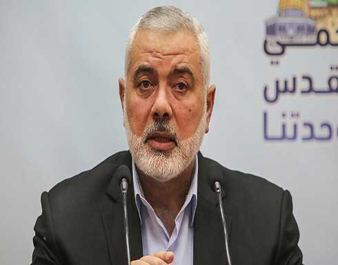 هنية يثمن تخصيص السيسي 500 مليون دولار لإعادة إعمار غزة