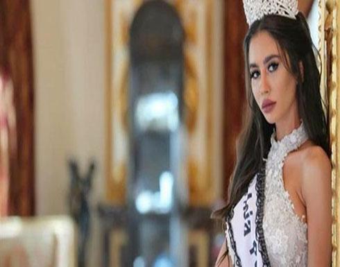 شاهدوا سيارة ملكة جمال لبنان الجديدة.. هكذا بدت مايا رعيدي خلال استلامها (صور)