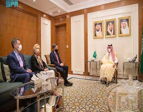 وزير الخارجية السعودي يبحث مع مستشار وزير الخارجية الأميركي العلاقات الاستراتيجية