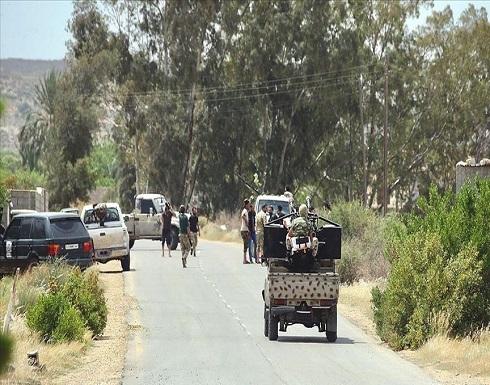 الجيش الليبي يعلن سيطرته على مواقع مهمة جنوبي طرابلس