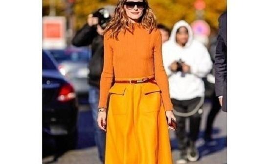 اللون البرتقالي يطغى على موضة الربيع والصيف