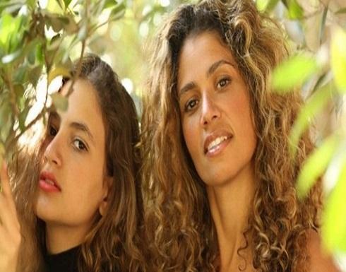 """بالصورة : زينة عاشور توجه رسالة لابنتها """"كنزي"""" بعد صورتها الجريئة"""