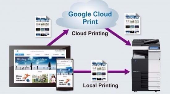 """""""غوغل كلاود برنت"""" تطبيق مجاني للطباعة من الأجهزة الجوالة"""