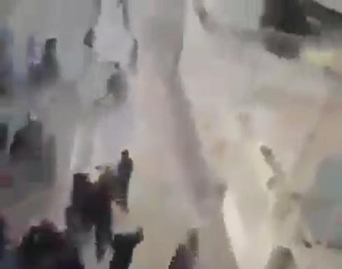 ثوار الأحواز يلقنون الباسيج درسا لن ينساه .. بالفيديو