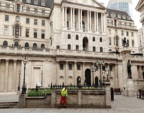 بنك إنجلترا يثبت الفائدة ويرى تعافيا سريعا للاقتصاد