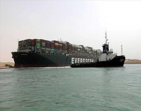 """مصر: """"إيفر جيفن"""" ستبقى بمنطقة البحيرات حتى دفع التعويضات"""