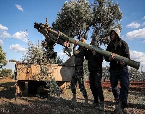 فيديو : إسقاط طائرة للجيش السوري في إدلب
