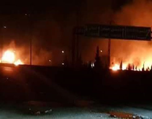 غارات إسرائيلية جنوب دمشق.. وأنباء عن قصف مواقع إيرانية(شاهد)