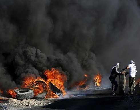 """إخلاء بؤرة استيطانية في """"بيتا"""" وإصابات بمواجهات مع الاحتلال .. بالفيديو"""