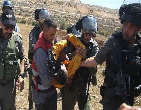 إسرائيل تعتقل 11 فلسطينيا في الضفة الغربية