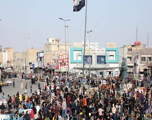 شاهد : توتر جنوبي العراق بعد يوم دام بين المحتجين والقوات الأمنية