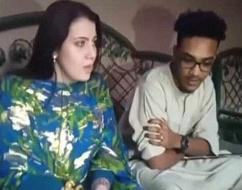 بالفيديو: أمريكية تعتنق الإسلام للزواج من سوداني